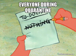 everyone during quarantine