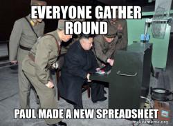 A New Spreadsheet