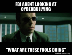 Agent Smith from the Matrix