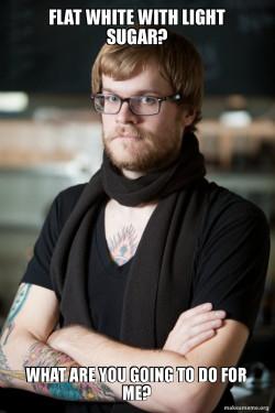 Hipster Barista
