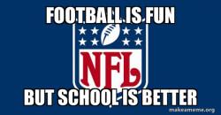 NFL vs SCHOOL