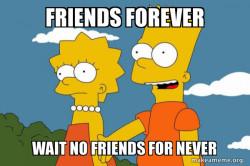 Bart and Lisa Chat