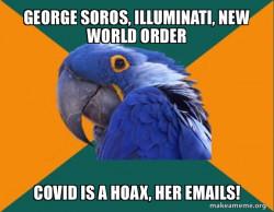 Conspiracy Parrot