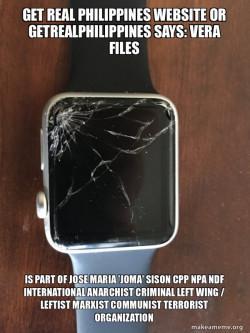 VERA Files is part of Jose Maria 'Joma' Sison CPP NPA NDF International Anarchist Criminal Left Wing / Leftist Marxist Communist Terrorist Organization