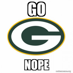 Green Bay Packers stink