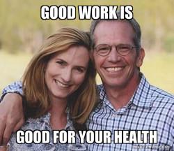 Health Benefits of Good Work