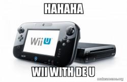 WII WITH DE U