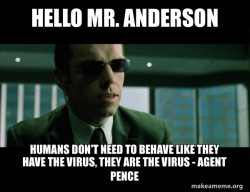Agent Pence, a.k.a. Mr. Smith