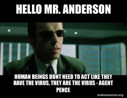 Agent Pence, A.K.A Mr. Pence