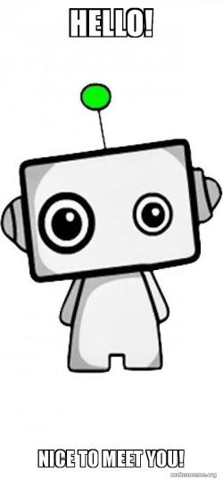 #cuterobot #hello #newfriend