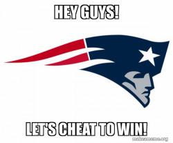 Cheater Patriots.
