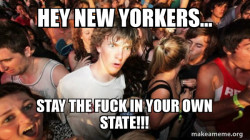typical new yorker