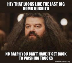 Hagrid - I should not have said that