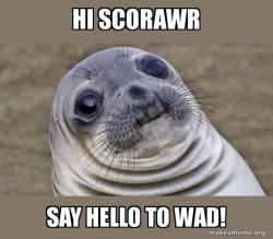 Hello SCORAwr