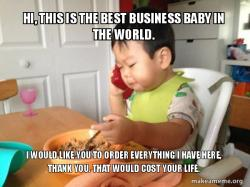 Businessman Baby