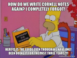Cornell Notes Guide
