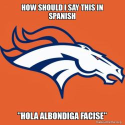 Denver Broncos spanish