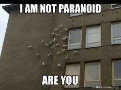 Paranoia meme