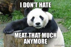 Meat Liking Panda
