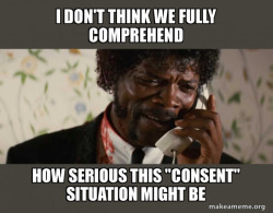 Comprehend consent