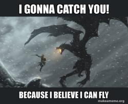 i believe i can fly meme
