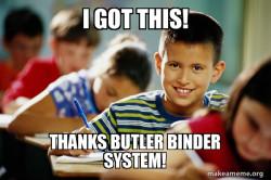 Butler Binders