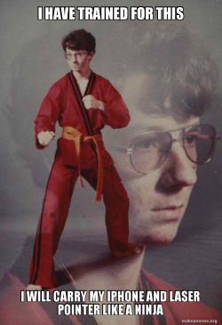 Karate Kyle protester