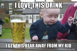 Baby drinker