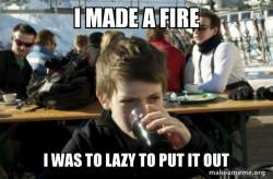 Lazy Elementary School Kid