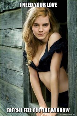 Sassy Emma Watson