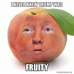 `fruity trump