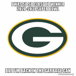 Green Bay losers