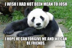 Sorrowful Panda Shannon