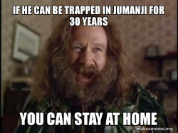Robin Williams - What year is it? Jumanji