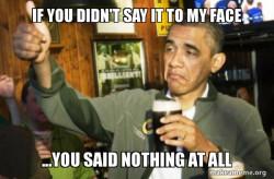 Upvote Obama