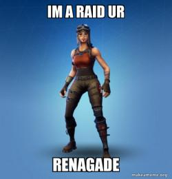 me raiding you