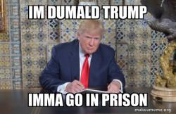 DUMALD TRUMP