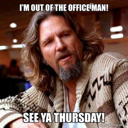 lebowski out of office