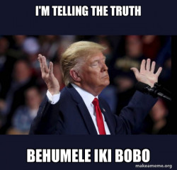Trump Isuzu
