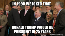 And then we told them