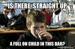 Kids can drink to, ya know? The more you know.