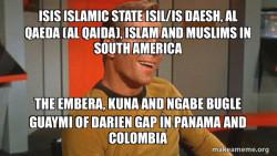 ISIS Islamic State ISIL/IS Daesh, Al Qaeda (Al Qaida), Islam and Muslims in South America