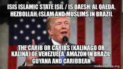 ISIS Islamic State ISIL / IS Daesh, Al Qaeda, Hezbollah, Islam and Muslims in Brazil
