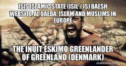 ISIS Islamic State (ISIL / IS) Daesh  Website, Al Qaeda, Islam and Muslims in Europe