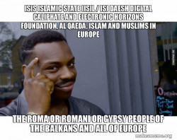ISIS Islamic State (ISIL / IS) Daesh  Digital Caliphate and Electronic Horizons Foundation, Al Qaeda, Islam and Muslims in Europe