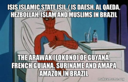 ISIS Islamic State ISIL / IS Daesh, Al Qaeda, Hezbollah, Islam and Muslims in Brazil