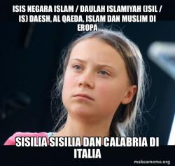 ISIS Negara Islam / Daulah Islamiyah  (ISIL / IS) Daesh, Al Qaeda, Islam dan Muslim di Eropa