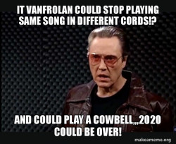 VanFro cause of covid!?