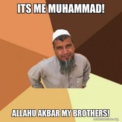 ALLAHU AKBAR MY BROTHERS!