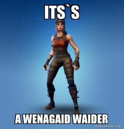 WENAGAID WAIDER OMG BWO